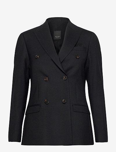 2558 - Rani DB - dobbeltradede blazere - black