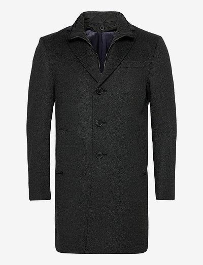 Cashmere Coat - Sultan Tech - charcoal