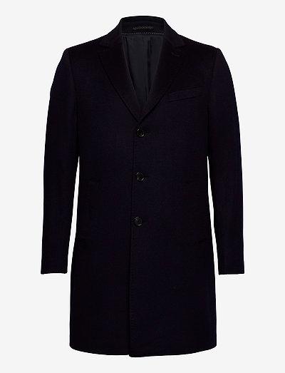 Cashmere Coat - Sultan Relax - vinterfrakker - medium blue