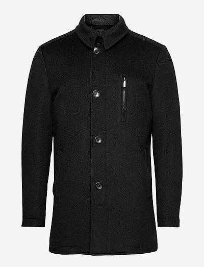 Cashmere Coat - Major N - vinterfrakker - black