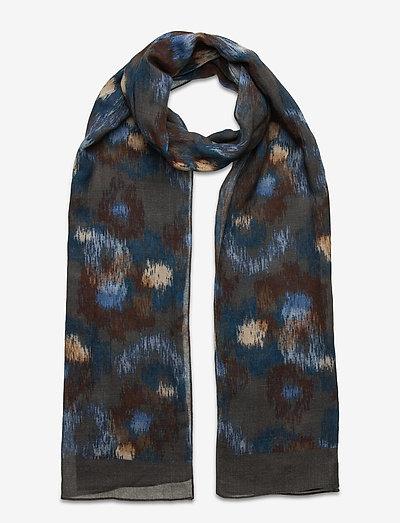 Scarf - tørklæder - medium blue