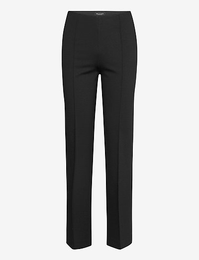 2548 - Malhia Wide - bukser med lige ben - black