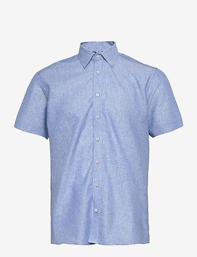 8800 - State N 2 Soft ST Trim - hørskjorter - medium blue