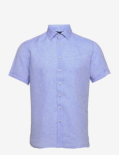 8823 - Iver C ST Trim - oxford skjorter - blue
