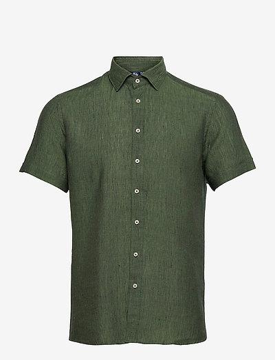 8823 - Iver C ST Trim - oxford skjorter - green