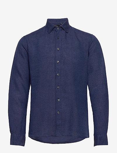 8823 - State NC - oxford skjorter - dark blue/navy