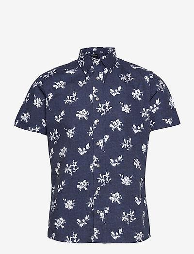 8802 - Iver 2 Soft ST - hørskjorter - dark blue/navy