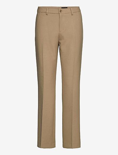3596 - Dori A Flared - bukser med lige ben - light camel