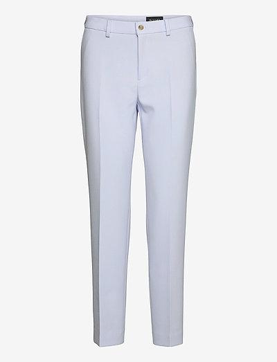 3596 - Dori A - bukser med lige ben - blue
