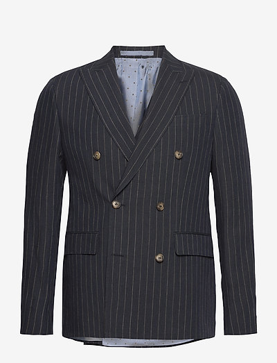 1838 - Star DB Normal - blazers met dubbele knopen - dark blue/navy