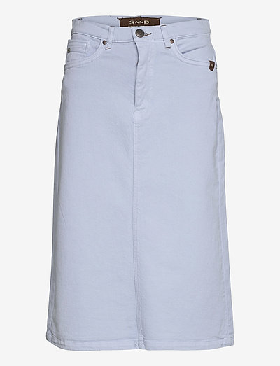 0639 - Kathy Skirt - midinederdele - light blue