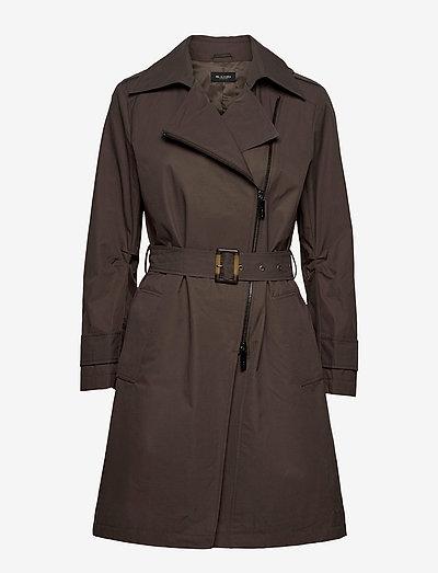 Techno Cotton W - Quita New - trenchcoats - olive/khaki