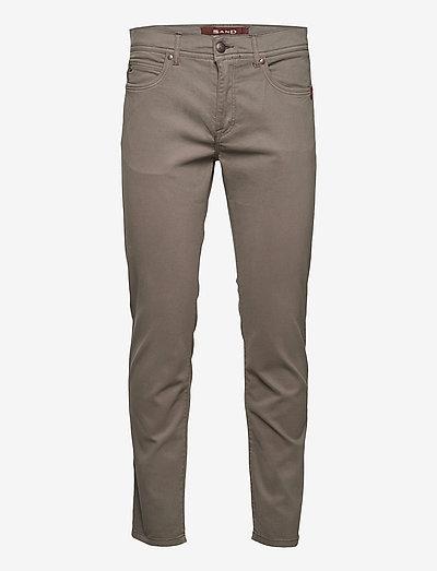 """Suede Touch - Burton NS 30"""" - slim jeans - dark army"""