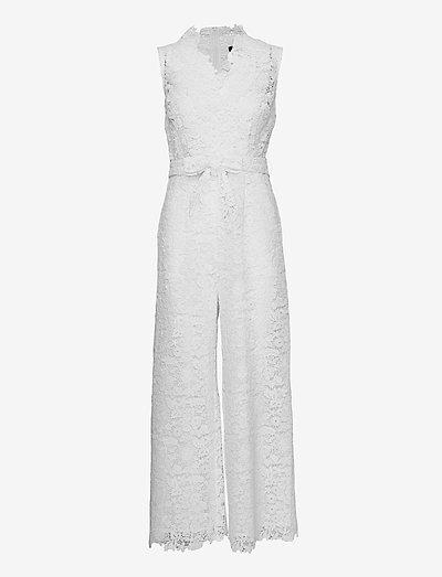 3180 - Whitney 2 - buksedragter - off white