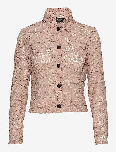 3180 - Kaela - langærmede skjorter - pink