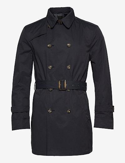 Techno Cotton - Trench B - trenchcoats - dark blue/navy