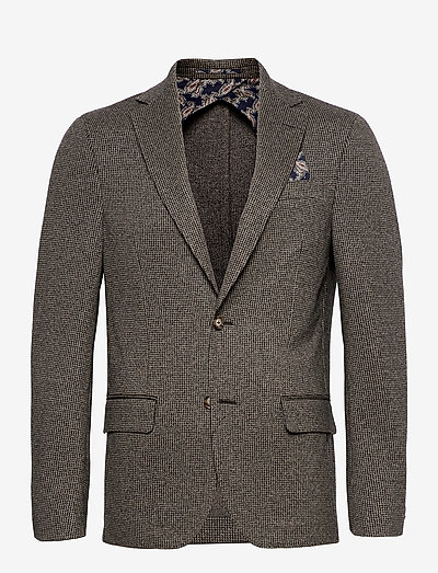 6672 - Star Easy Normal - enkeltradede blazere - medium grey