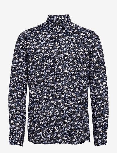 8878 - State N 2 - hørskjorter - medium blue