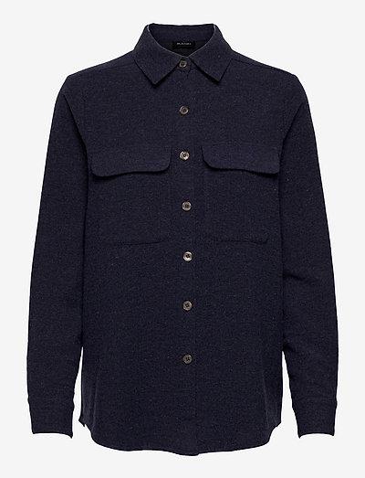 Woton - Nami - overshirts - medium blue