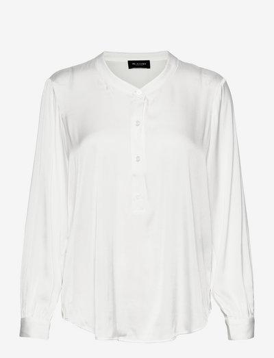 3176 Matt - Nami Tunic - langærmede bluser - off white