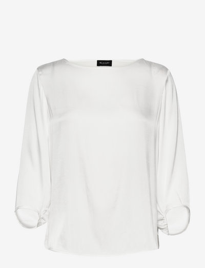 3176 Matt - Nova - langærmede bluser - off white