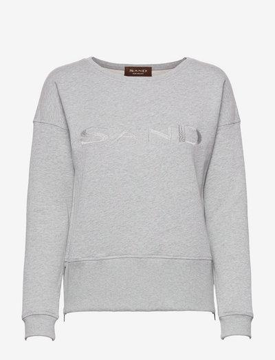 4905 WW - Faiza - sweatshirts - light grey melange