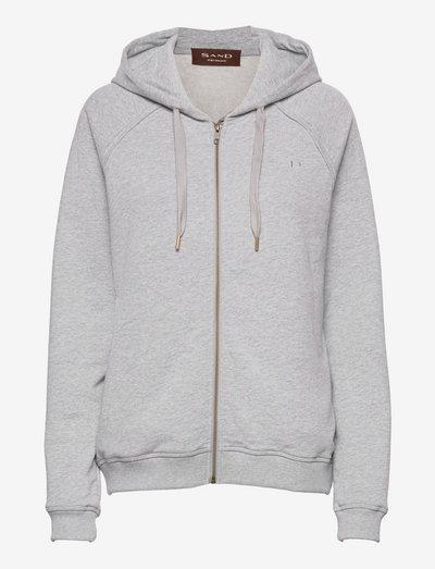 4905 WW - Alae - hoodies - light grey melange