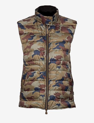 7441 WW - Scottie - vatteret veste - camo print
