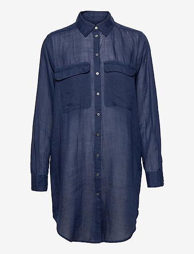 8851 - Nami Long - langærmede skjorter - dark blue