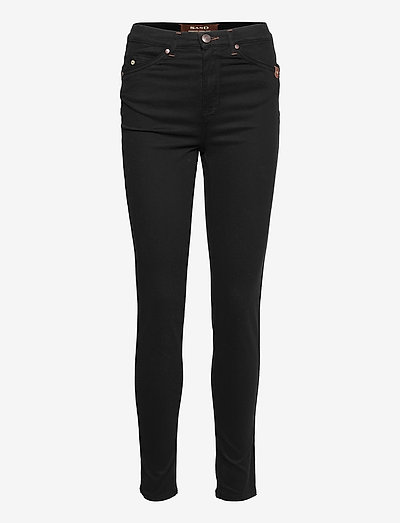 Suede Touch W - Apush High - chinos - black