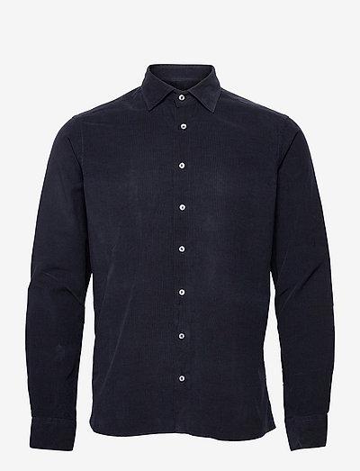 Soft Mini Cord - State NC 2 - hørskjorter - medium blue