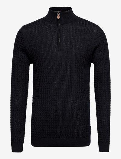 5471 - Ibro. - half zip-trøjer - dark blue/navy
