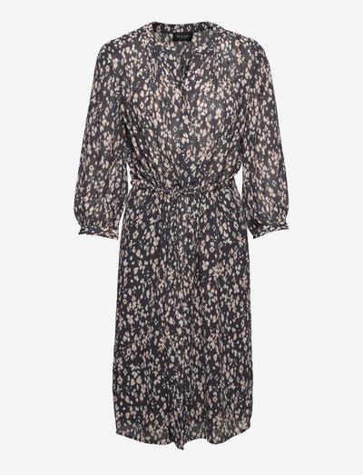 3444 - Zihia Dress V/L - everyday dresses - charcoal