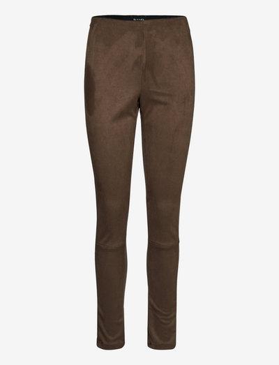 0736 - Shamar - slim fit bukser - khaki