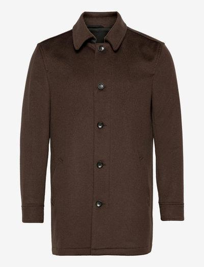 Cashmere Coat - Blair - vinterfrakker - dark brown