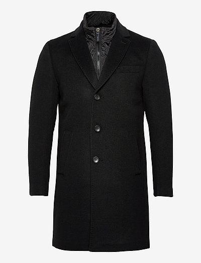 Cashmere Coat - Sultan Tech - vinterfrakker - black