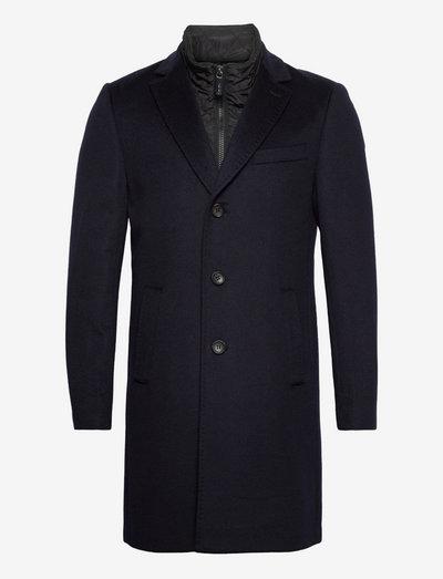 Cashmere Coat - Sultan Tech - vinterfrakker - medium blue