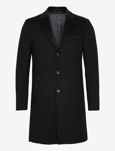 Cashmere Coat - Sultan Relax - vinterfrakker - black