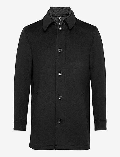 Cashmere Coat - Blair Tech - vinterfrakker - black