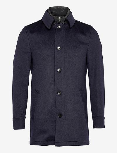 Cashmere Coat - Blair Tech - vinterfrakker - medium blue