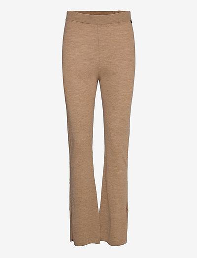 Fellini - Dharma - bukser med lige ben - light camel