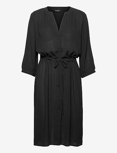 3446 - Zihia Dress V - hverdagskjoler - black