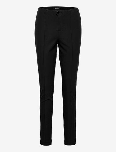 0624 - Arella - bukser med lige ben - black