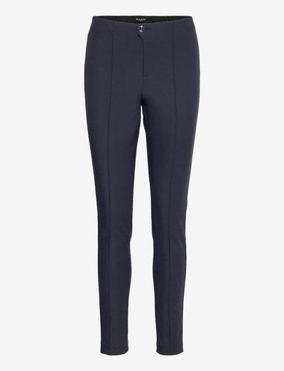0624 - Arella - bukser med lige ben - dark blue/navy