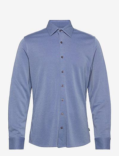 Shawn - Iver 2 - hørskjorter - medium blue