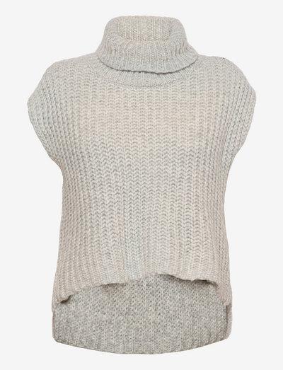 5508 - Metka - strikkede toppe - grey