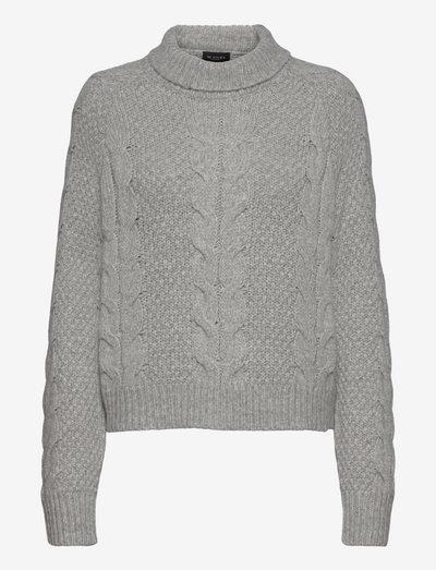 5508 - Tea - strikkede toppe - grey