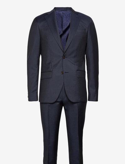 Prunella Mohair - Star Napoli-Craig - enkeltradede jakkesæt - medium blue