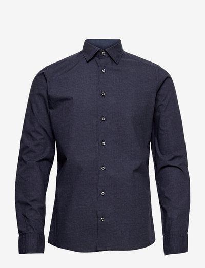 8669 - Iver 2 Soft - hørskjorter - medium blue