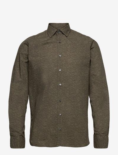 8669 - State N 2 Soft - hørskjorter - green